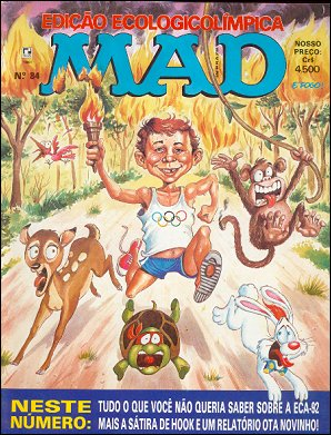 MAD Magazine #84 • Brasil • 2nd Edition - Record
