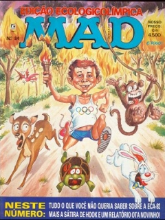 MAD Magazine #84 • Brasil • 2nd Edition - Record