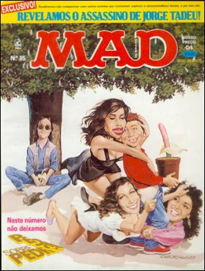 MAD Magazine #85 • Brasil • 2nd Edition - Record