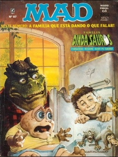 MAD Magazine #87 • Brasil • 2nd Edition - Record