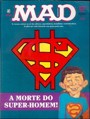 MAD Magazine #89 • Brasil • 2nd Edition - Record