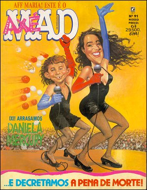 MAD Magazine #91 • Brasil • 2nd Edition - Record