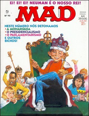 MAD Magazine #92 • Brasil • 2nd Edition - Record