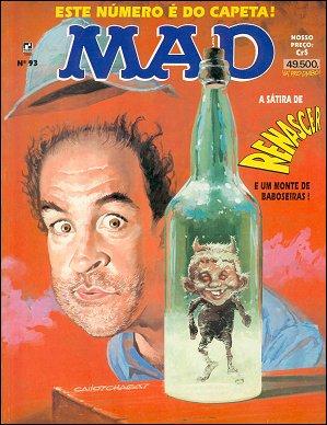 MAD Magazine #93 • Brasil • 2nd Edition - Record