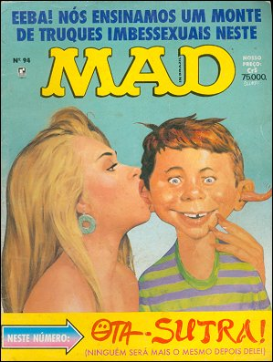 MAD Magazine #94 • Brasil • 2nd Edition - Record
