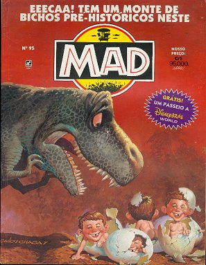 MAD Magazine #95 • Brasil • 2nd Edition - Record