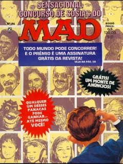 MAD Magazine #96 • Brasil • 2nd Edition - Record