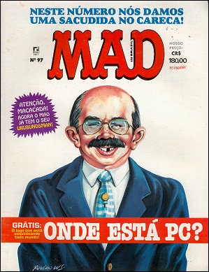 MAD Magazine #97 • Brasil • 2nd Edition - Record