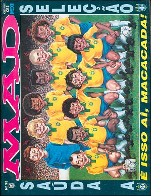 MAD Magazine #98 • Brasil • 2nd Edition - Record