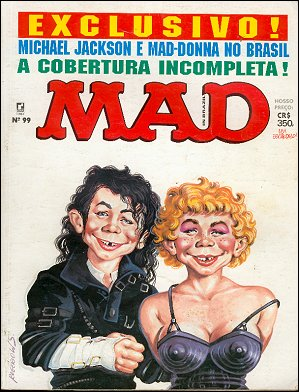 MAD Magazine #99 • Brasil • 2nd Edition - Record