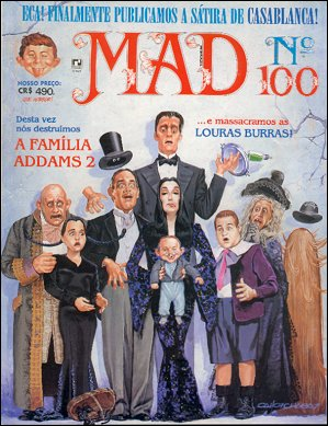 MAD Magazine #100 • Brasil • 2nd Edition - Record