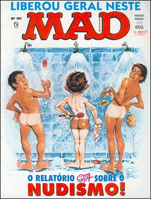 MAD Magazine #101 • Brasil • 2nd Edition - Record