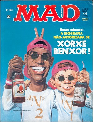 MAD Magazine #102 • Brasil • 2nd Edition - Record