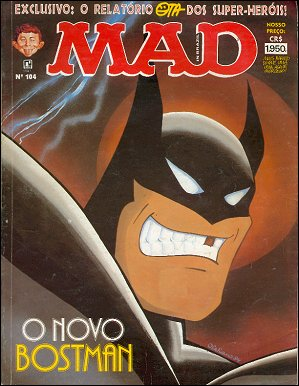 MAD Magazine #104 • Brasil • 2nd Edition - Record