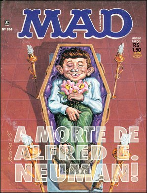 MAD Magazine #106 • Brasil • 2nd Edition - Record