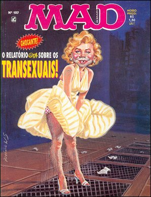 MAD Magazine #107 • Brasil • 2nd Edition - Record