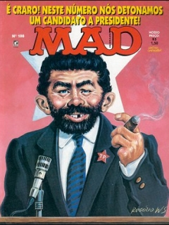 MAD Magazine #108 • Brasil • 2nd Edition - Record