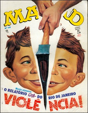 MAD Magazine #110 • Brasil • 2nd Edition - Record