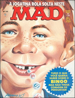 MAD Magazine #111 • Brasil • 2nd Edition - Record