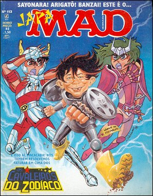 MAD Magazine #113 • Brasil • 2nd Edition - Record