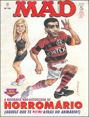 MAD Magazine #114 • Brasil • 2nd Edition - Record