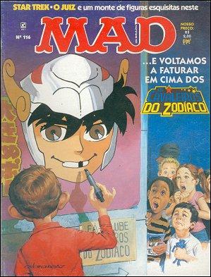 MAD Magazine #116 • Brasil • 2nd Edition - Record