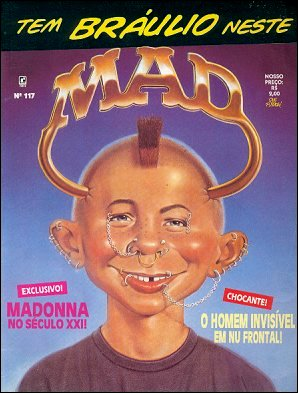 MAD Magazine #117 • Brasil • 2nd Edition - Record