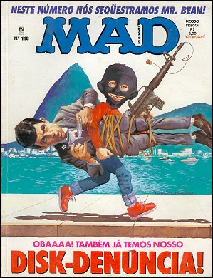 MAD Magazine #118 • Brasil • 2nd Edition - Record