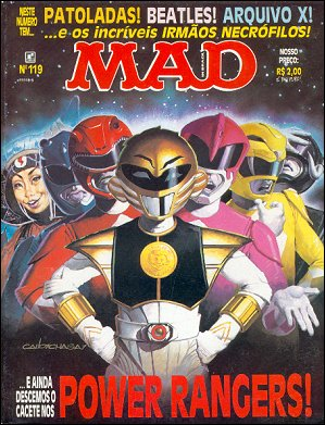 MAD Magazine #119 • Brasil • 2nd Edition - Record