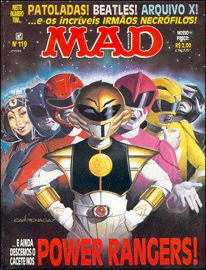 MAD Magazine #119 • Brasil • 2nd Edition - Record