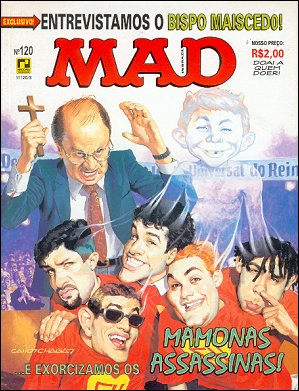 MAD Magazine #120 • Brasil • 2nd Edition - Record