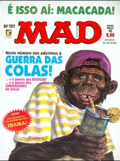 MAD Magazine #121 • Brasil • 2nd Edition - Record
