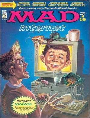 MAD Magazine #122 • Brasil • 2nd Edition - Record