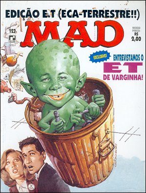 MAD Magazine #123 • Brasil • 2nd Edition - Record