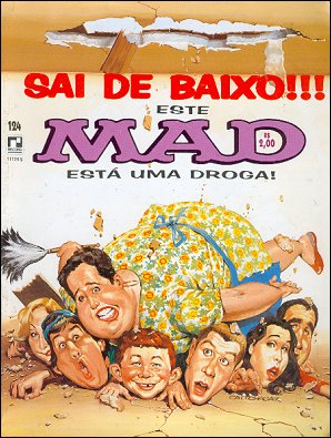 MAD Magazine #124 • Brasil • 2nd Edition - Record