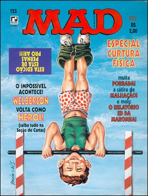 MAD Magazine #125 • Brasil • 2nd Edition - Record