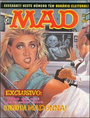MAD Magazine #126 • Brasil • 2nd Edition - Record