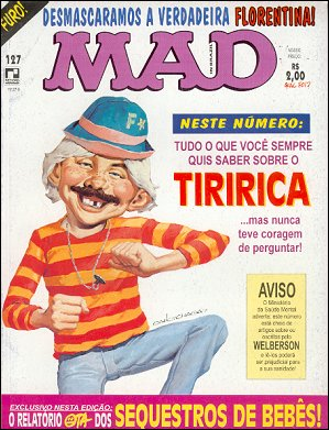 MAD Magazine #127 • Brasil • 2nd Edition - Record