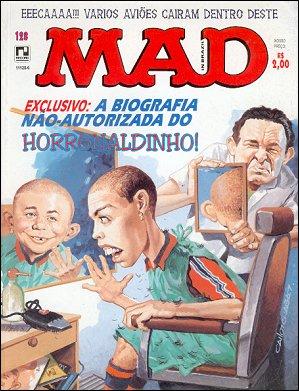 MAD Magazine #128 • Brasil • 2nd Edition - Record