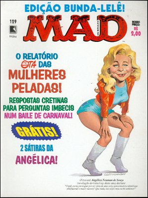 MAD Magazine #129 • Brasil • 2nd Edition - Record
