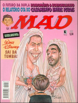 MAD Magazine #131 • Brasil • 2nd Edition - Record