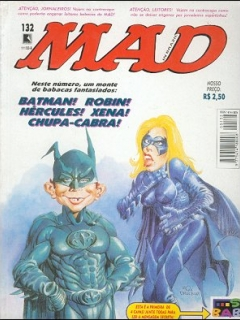 Brasilian MAD Magazine #132
