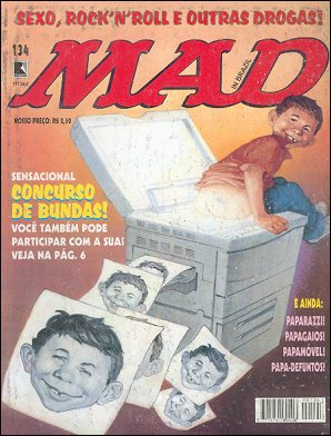 MAD Magazine #134 • Brasil • 2nd Edition - Record
