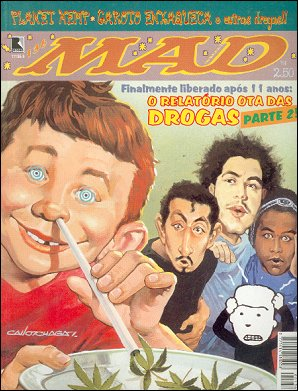 MAD Magazine #136 • Brasil • 2nd Edition - Record
