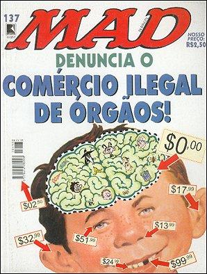 MAD Magazine #137 • Brasil • 2nd Edition - Record