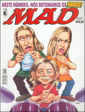 MAD Magazine #138 • Brasil • 2nd Edition - Record