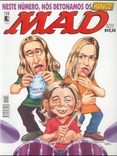 MAD Magazine #138 • Brasil • 2nd Edition - Record