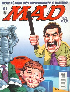 MAD Magazine #139 • Brasil • 2nd Edition - Record