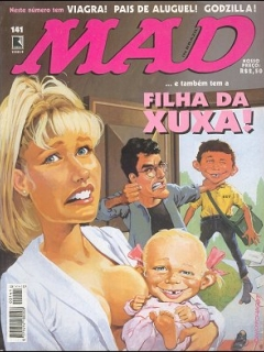 MAD Magazine #141 • Brasil • 2nd Edition - Record