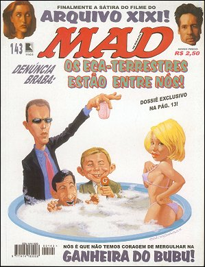 MAD Magazine #143 • Brasil • 2nd Edition - Record